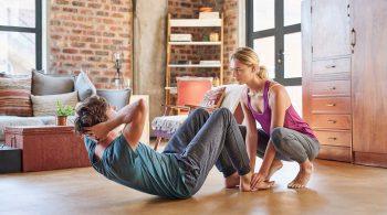 Effektives Training im Wohnzimmer