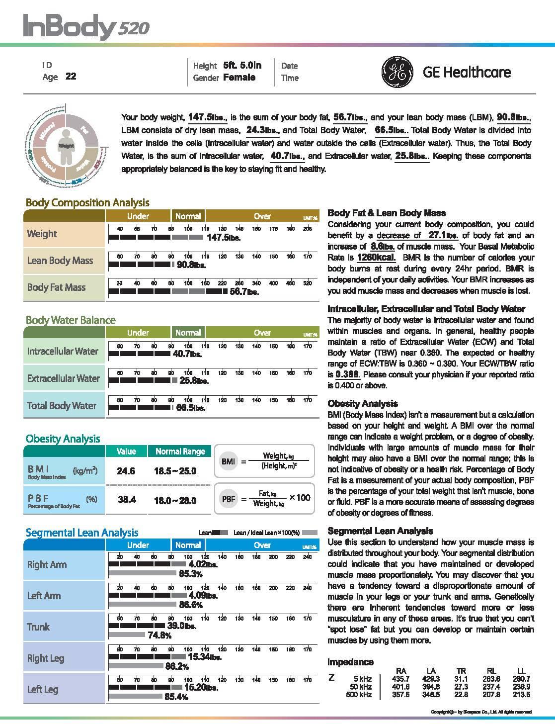 GE-Healthcare-InBody-520-Product-Spec