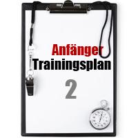 Anfänger Trainingsplan Muskelaufbau2