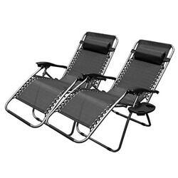XtremepowerUS Zero Gravity Adjustable Reclining Chair