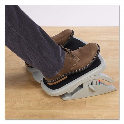 Kensington Comfort Memory Foam Adjustable Footrest