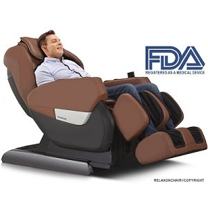 RELAXONCHAIR MK-IV Full Body Zero Gravity Shiatsu Massage Chair