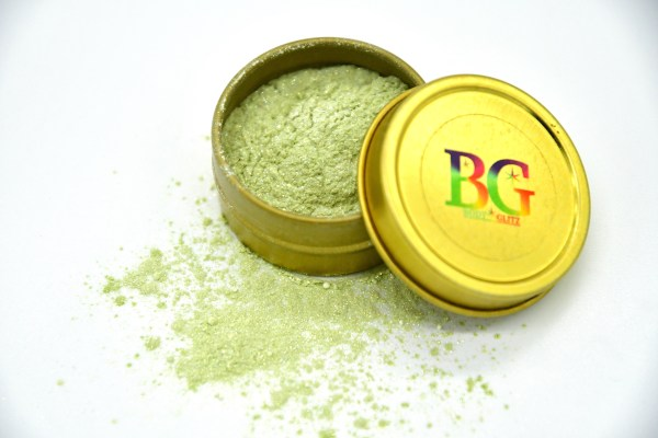 Cash Green Body Glitter
