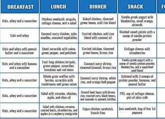 7 day protein diet plan for weight loss