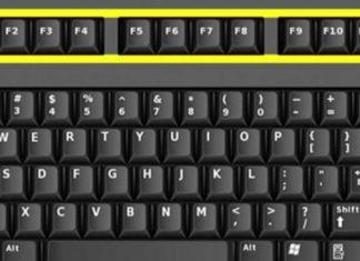 function keys F1 to F12