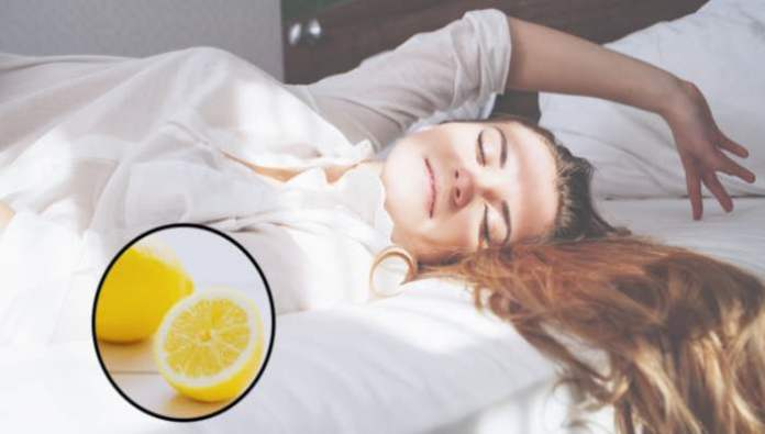 Put a lemon next to your bed