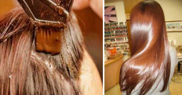cinnamon hair dye