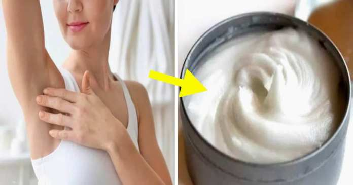 homemade natural deodorant