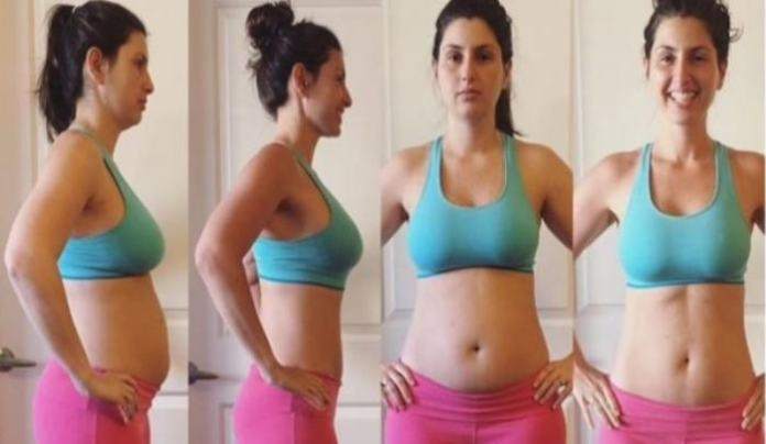 Oatmeal water to deflate belly fat and lose weight