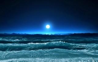 silent ocean waves