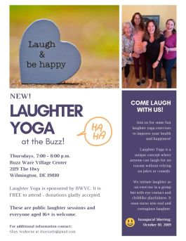 Laughter Yoga in Wilmington, Delaware