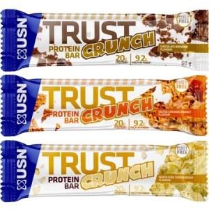 USN Trust Crunch Protein Bar 12 x 60g