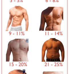 what range is your starting body fat percentage  [ 720 x 1391 Pixel ]