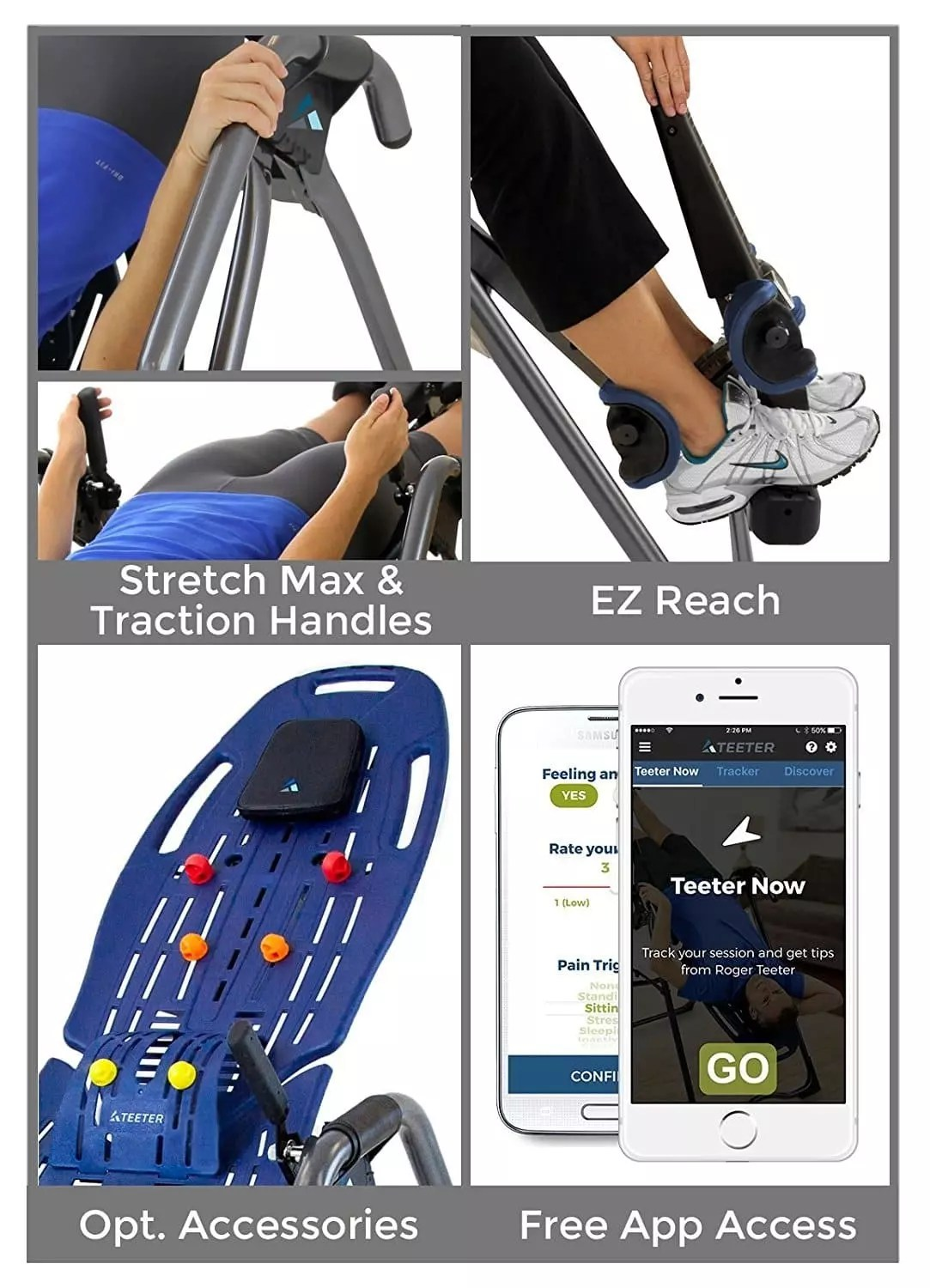 Ez Hang Chairs Teeter Ep 960 Inversion Table Body Massage Shop