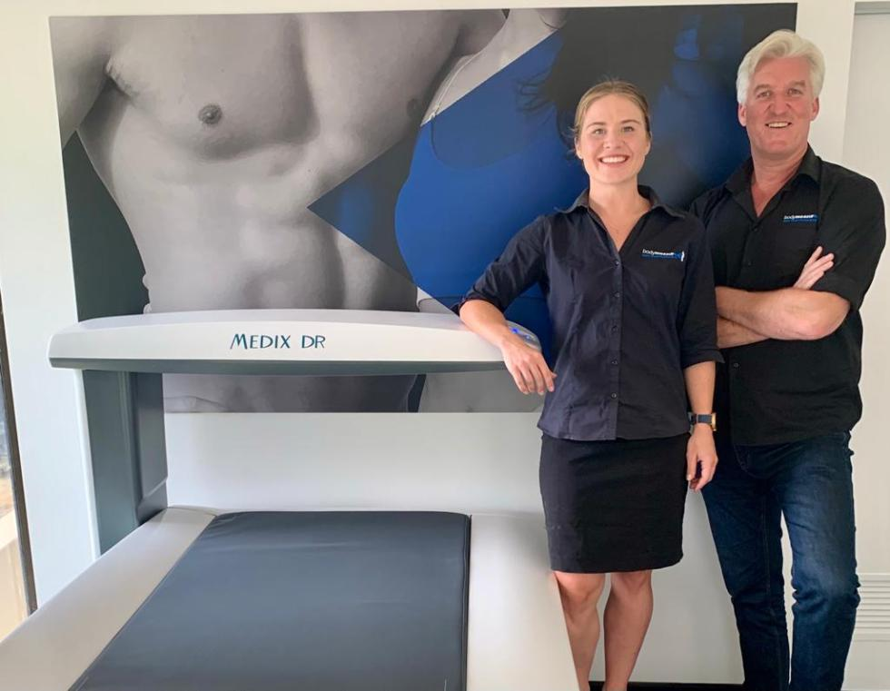 Dexa Scan team at bodymeasure