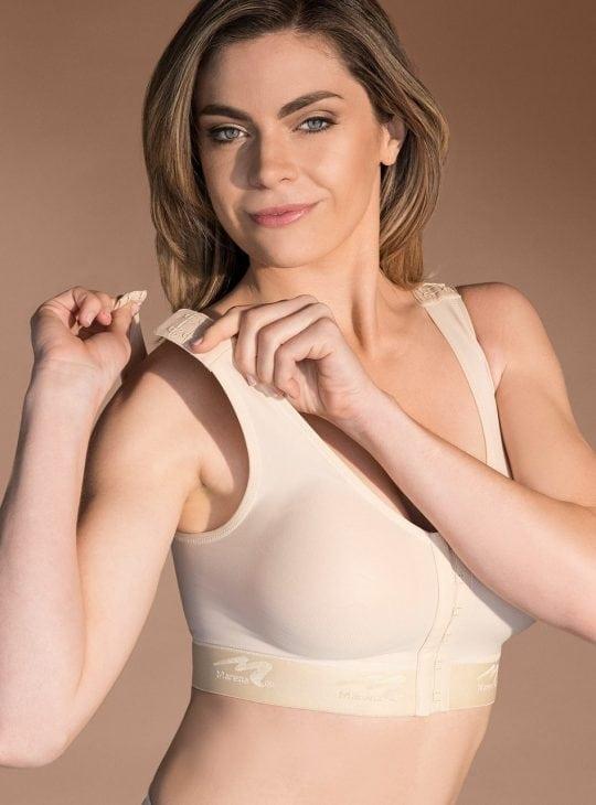 Marena Comfortwear B01G Post Operative Support Bra Shoulder Details