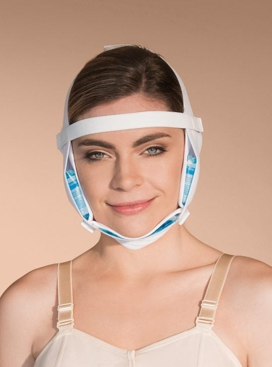 Face Lift Face Mask with Ice Packs for post op face cosmetic surgery