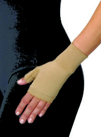 Compression glove for vascular conditions