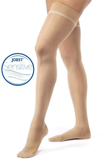 Jobst Lymoedema Soft Compression Thigh High Sensitive Stockings Australia