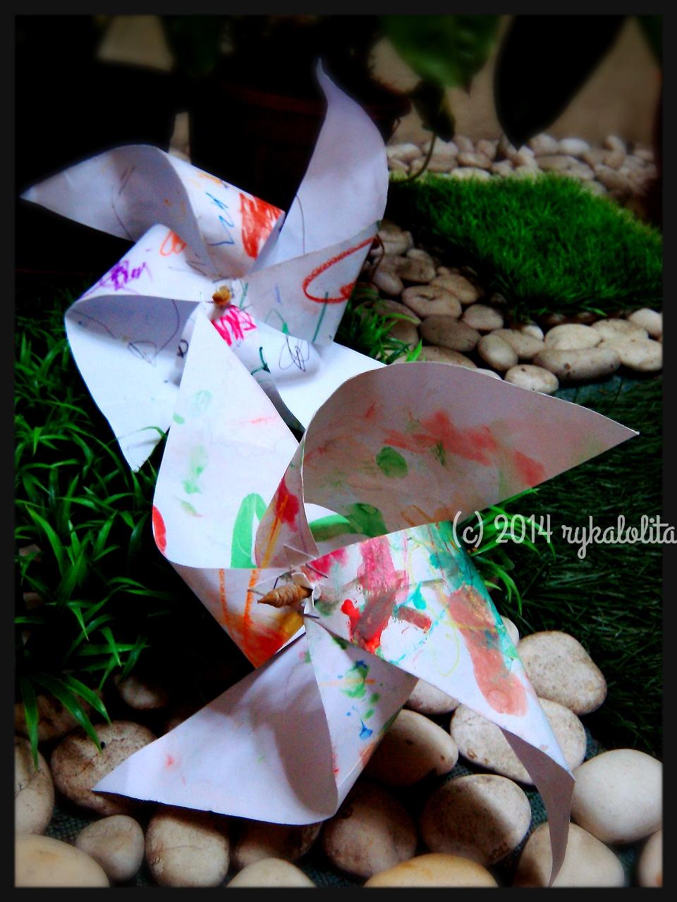 Cara Membuat Baling Baling Dari Kertas Karton : membuat, baling, kertas, karton, Mainan, Buatan, Sendiri, Rykalolita's