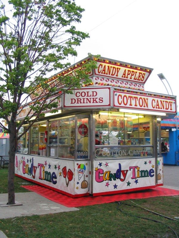 Cotton Candy Stand Body Mind And Stomach