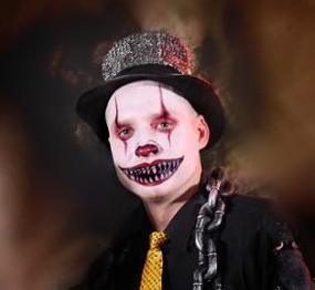 Halloween Horror Facepainting Schminken Gesichtsbemalung