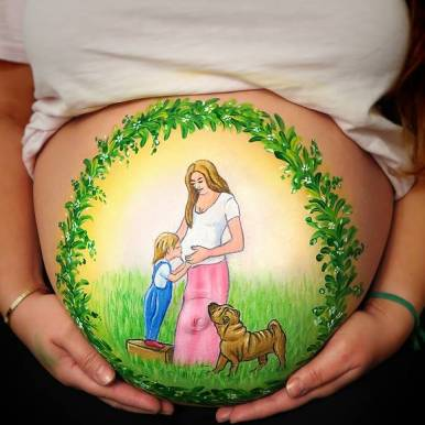 Bellypainting