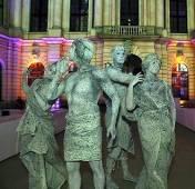 Event Bodypainting Statuen