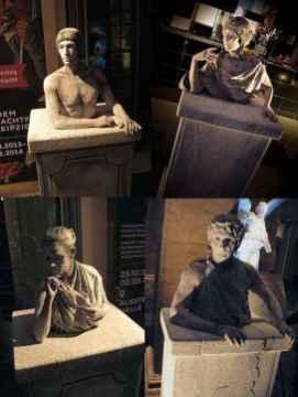 Event Bodypainting-Stein -statuen(3)