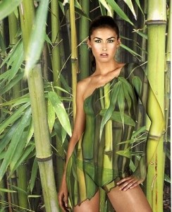 Camouflage Bodypainting Fiona Erdmann Bambus