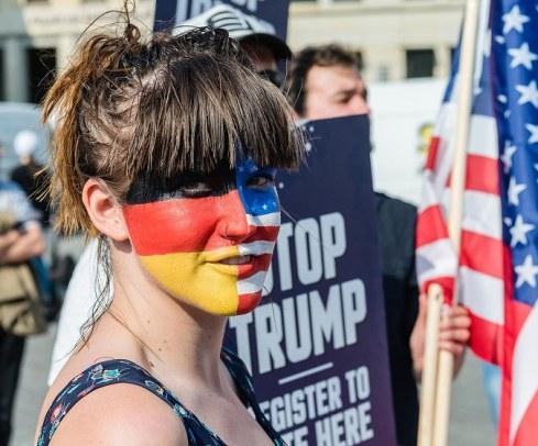 Facepainting Flagge 1