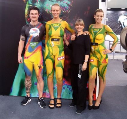 WM Promotion Bodypainting (2)