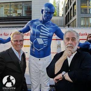 Bodypainting Berliner Hoffest Johnman Walz