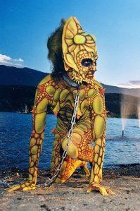 Bodypainting Creature Weltmeisterschaft