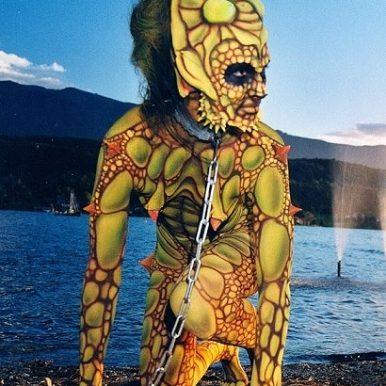 Bodypainting Creature Weltmeisterschaft Contest Award
