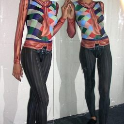 Bodypainting Hugo Boss