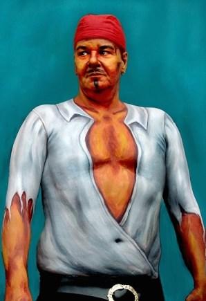 Living Art moderne kunst Bodypainting