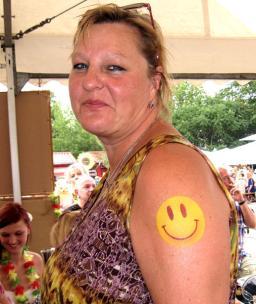 Airbrush Tattoos für Besucher