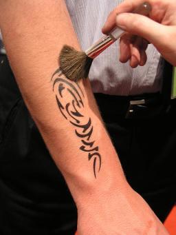 Airbrush Tattoos Animation