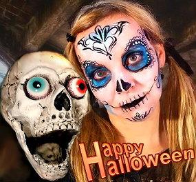 Halloween Facepainting Schminken