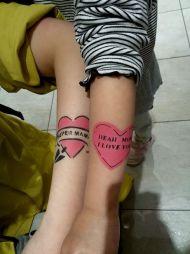Airbrush Tattoos im KaDeWe