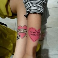 Airbrush Tattoos im KaDeWe