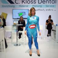 Bodypainting Messe Promotion