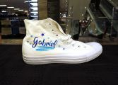 Sneakers Personalisierung Airbrush Painting Schuhe
