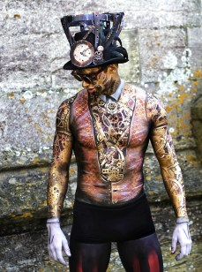 Victorian Magic Man, 1st Place Art Couture Painswick