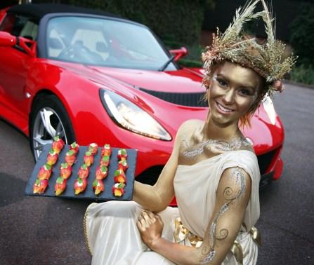 Wheatsheaf goddess barhma Jungle PR lotus car