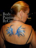 RHKYC Ball glitter tatt cat-eaten bird wings bpc