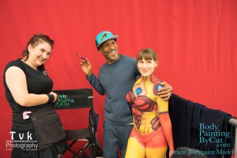 NorCon Iron Man girl 2016 the cat paints Gracie bpc