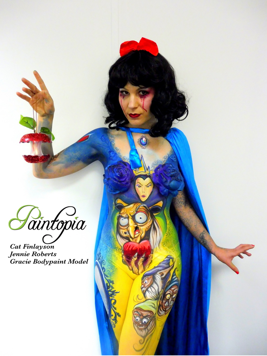 Death Of Disney Twisted Tales Bodypaint Series Body