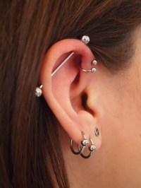 The gallery for --> Types Of Earrings For Cartilage